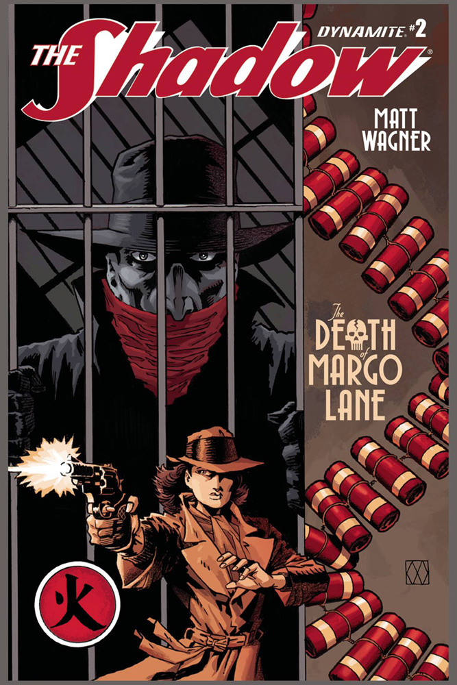Image: Shadow: The Death of Margo Lane #2 (cover A - Wagner) - Dynamite