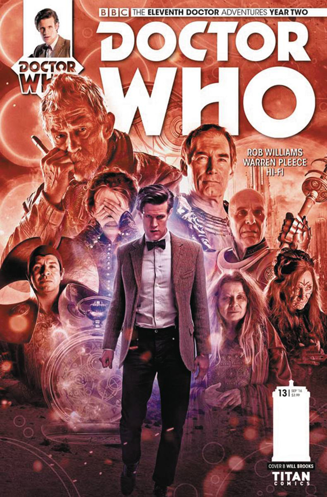 Image: Doctor Who: 11th Doctor - Year Two #13 (cover B - Photo) - Titan Comics