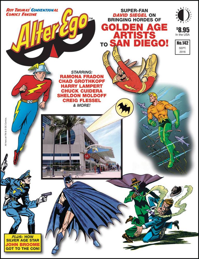 Image: Alter Ego #142 - Twomorrows Publishing