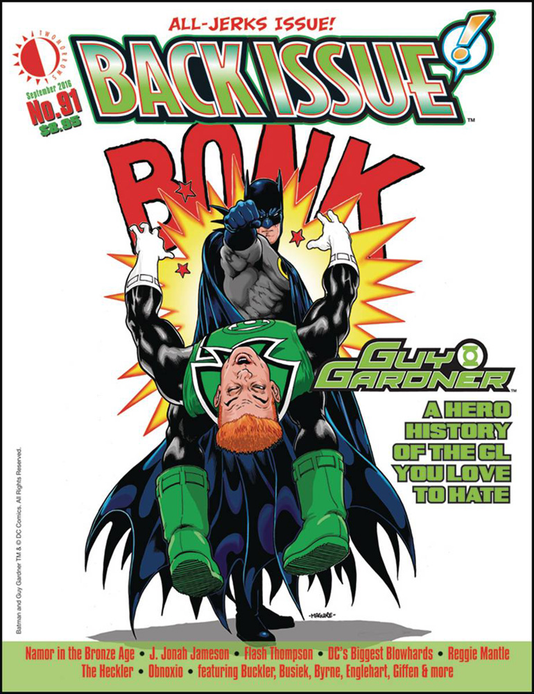 Image: Back Issue #91 - Twomorrows Publishing