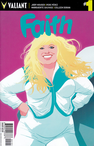 Image: Faith [2016] #1 (Kano variant incentive - 00191) (20-copy) - Valiant Entertainment LLC