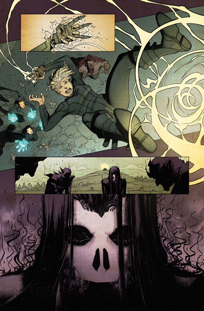 4001 A.D.: Shadowman #1 (Lee Mega variant incentive - 80141) (20-copy) - Valiant Entertainment LLC