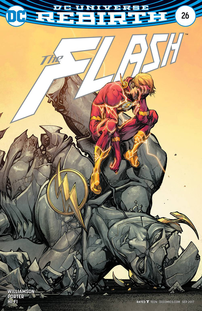 Image: Flash #26 (variant cover - Howard Porter)  [2017] - DC Comics