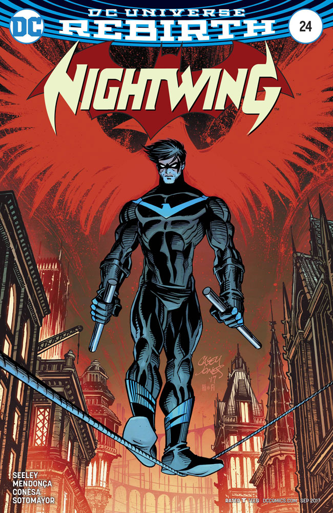 Image: Nightwing #24 (Casey Jones variant cover)  [2017] - DC Comics