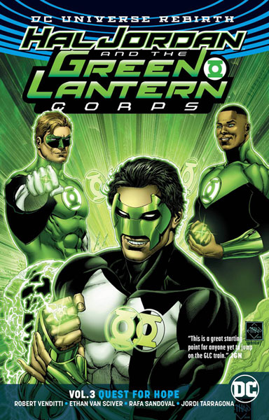 Image: Hal Jordan and the Green Lantern Corps Vol. 03: Quest for Hope SC  - DC Comics