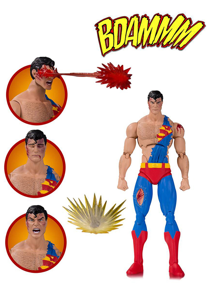 DC Icons Deluxe Action Figure: Death of Superman 2 Pack - Doomsday / Superman  - DC Comics