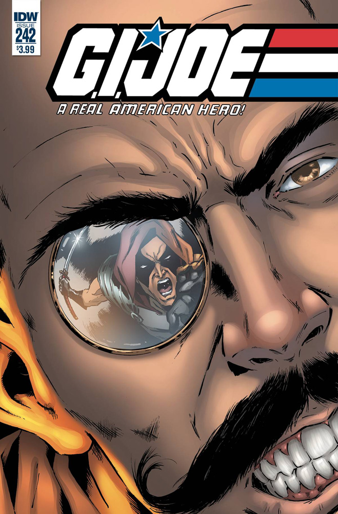 Image: G.I. Joe: A Real American Hero #242 (cover A - Gallant)  [2017] - IDW Publishing