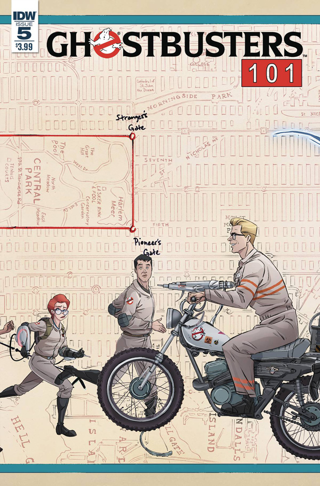 Image: Ghostbusters 101 #5 (cover A - Schoening)  [2017] - IDW Publishing