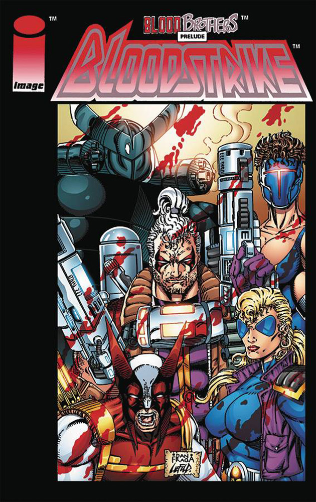 Image: Bloodstrike Remastered Edition #1 (cover A - Fraga)  [2017] - Image Comics