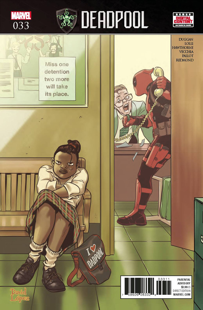 Image: Deadpool #33  [2017] - Marvel Comics