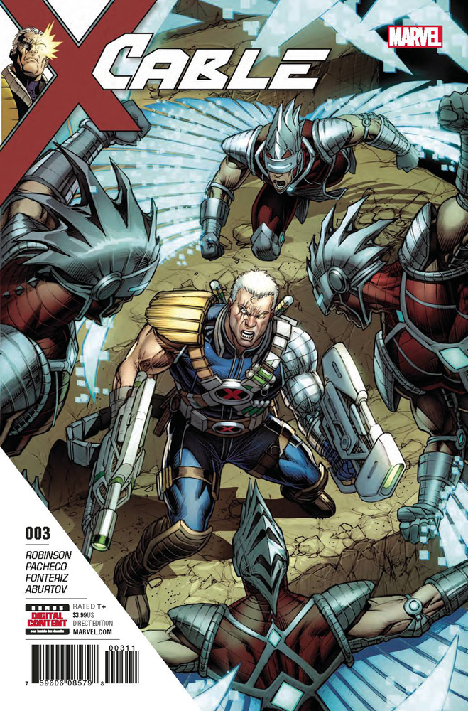 Image: Cable #3  [2017] - Marvel Comics