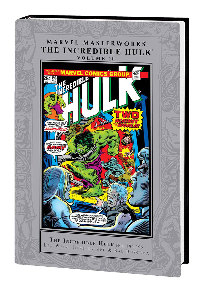 Image: Marvel Masterworks: The Incredible Hulk Vol. 11 HC  - Marvel Comics