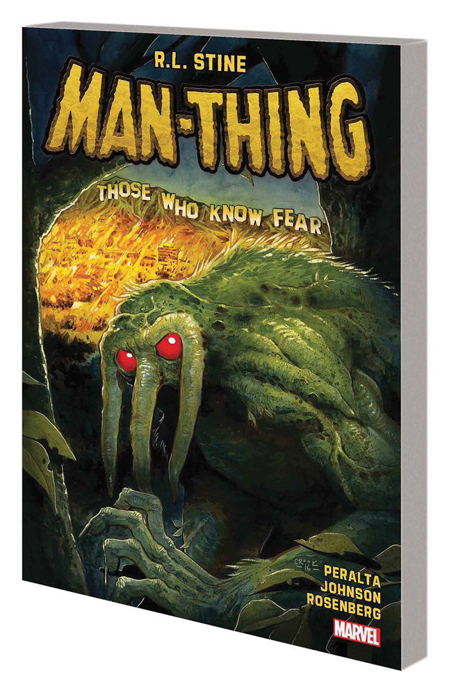 Image: Man-Thing by R.L. Stine Vol. 01 SC  - Marvel Comics