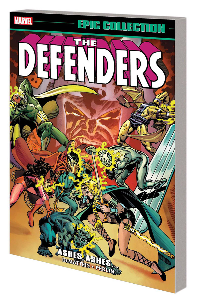 Image: Defenders Epic Collection: Ashes, Ashes... SC  - Marvel Comics