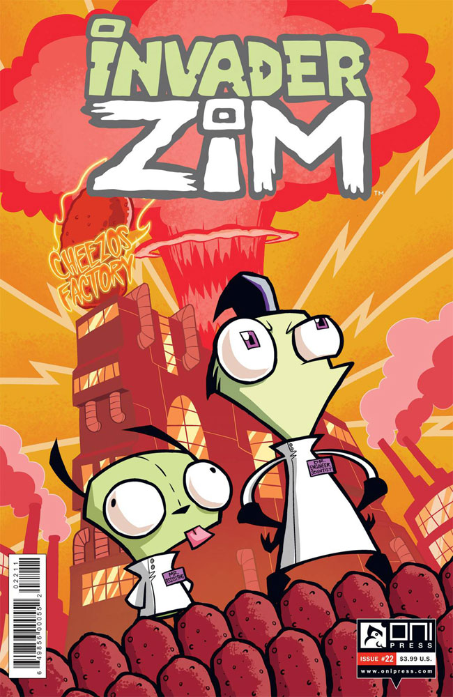 Image: Invader Zim #22  [2017] - Oni Press Inc.