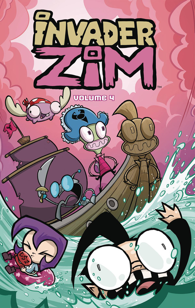 Image: Invader Zim Vol. 04 SC  - Oni Press Inc.