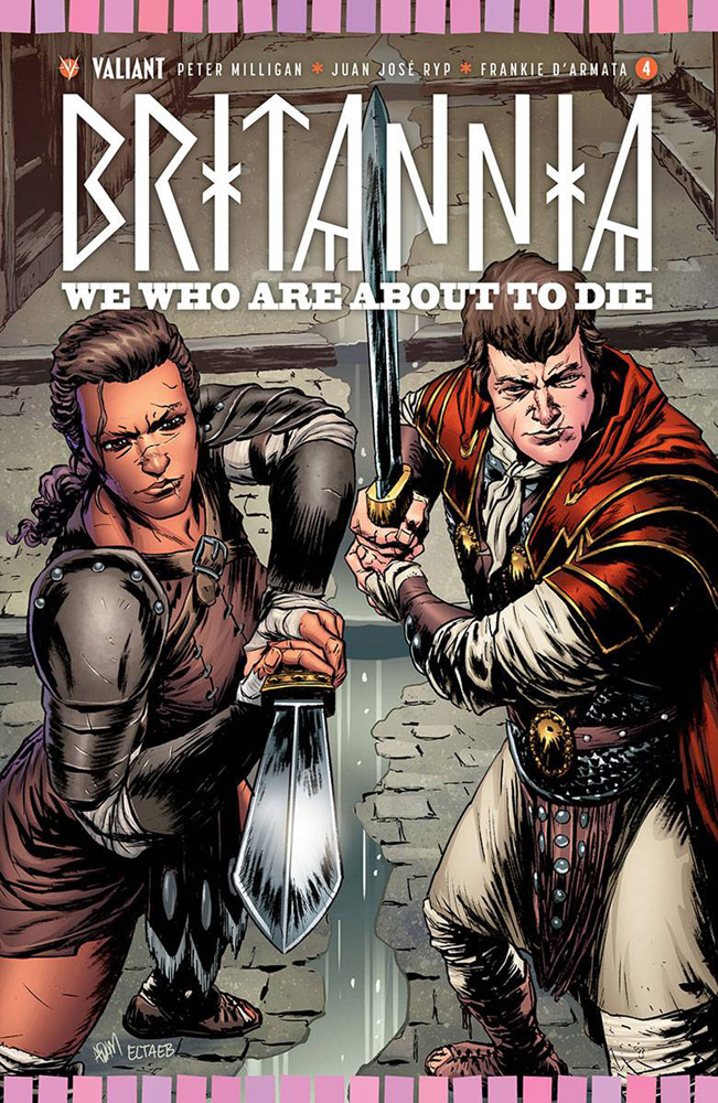 Image: Britannia: We Who Are About to Die #4 (Gorham incentive cover - 80441) (20-copy)  [2017] - Valiant Entertainment LLC
