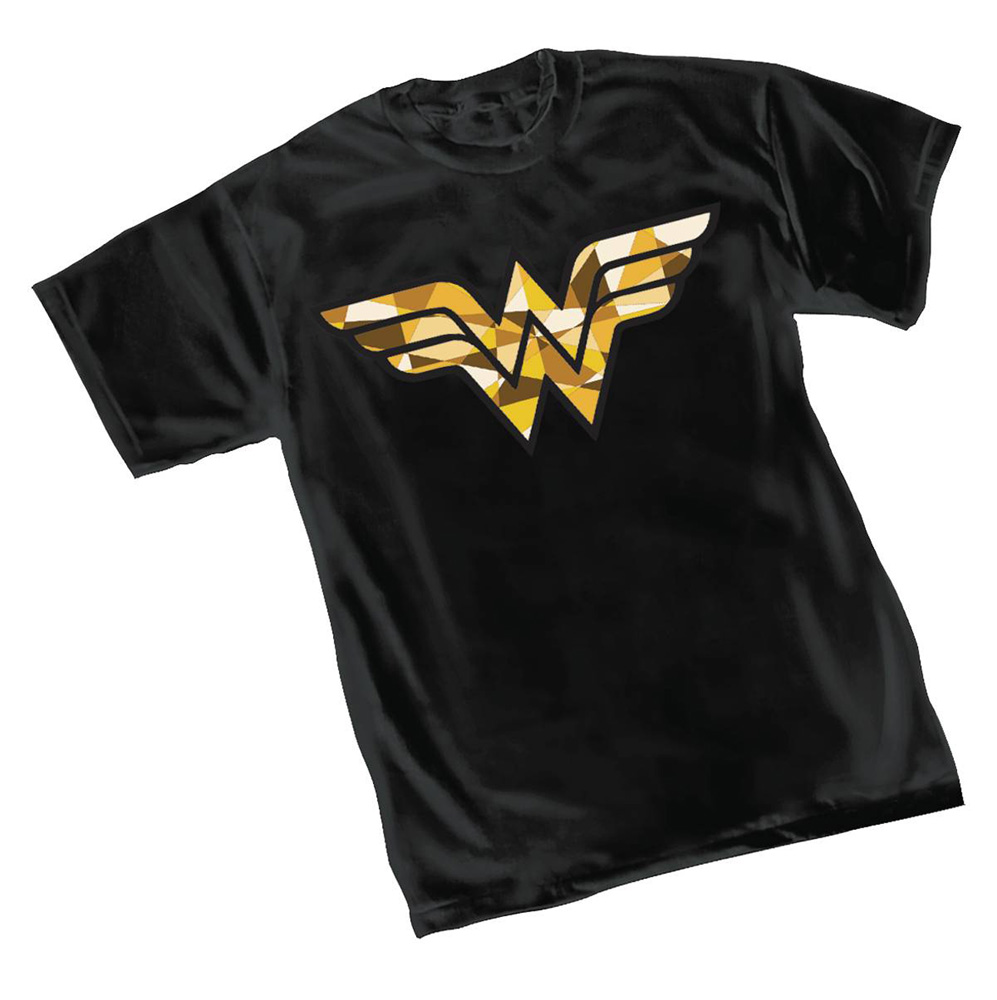 Image: Wonder Woman T-Shirt: Cube  (S) - Graphitti Designs