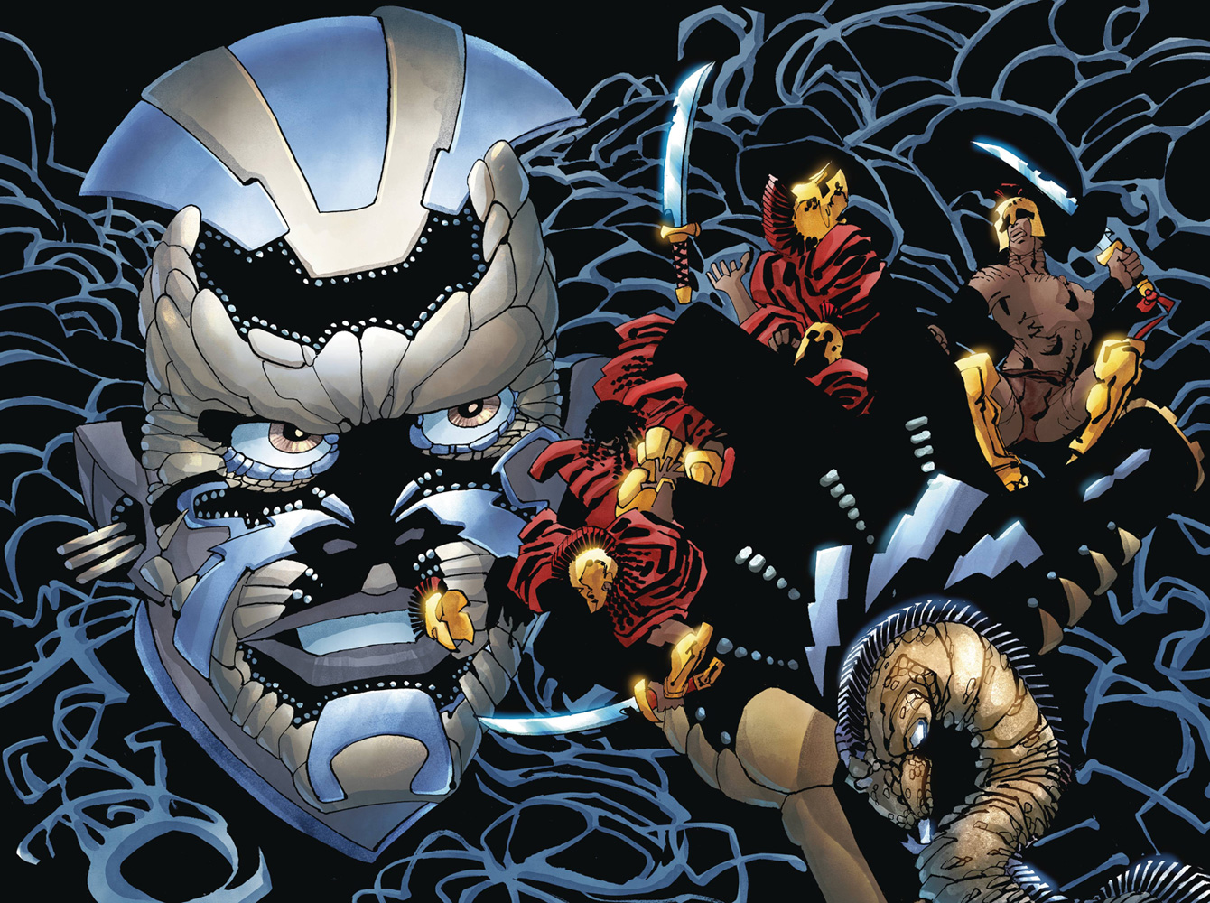 Image: Xerxes: The Fall of the House of Darius and the Rise of Alexander #4 - Dark Horse Comics