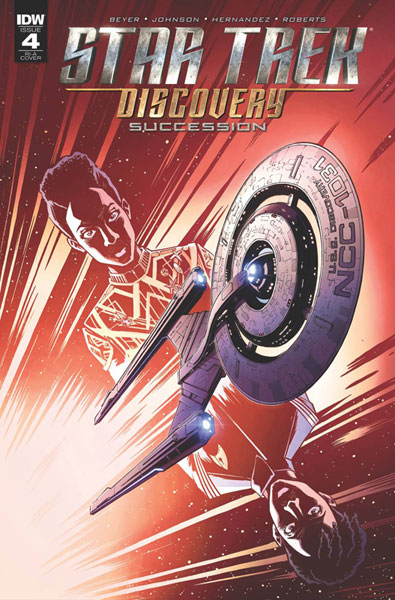 Image: Star Trek: Discovery: Succession #4 (incentive cover A - Roche) (10-copy)  [2018] - IDW Publishing