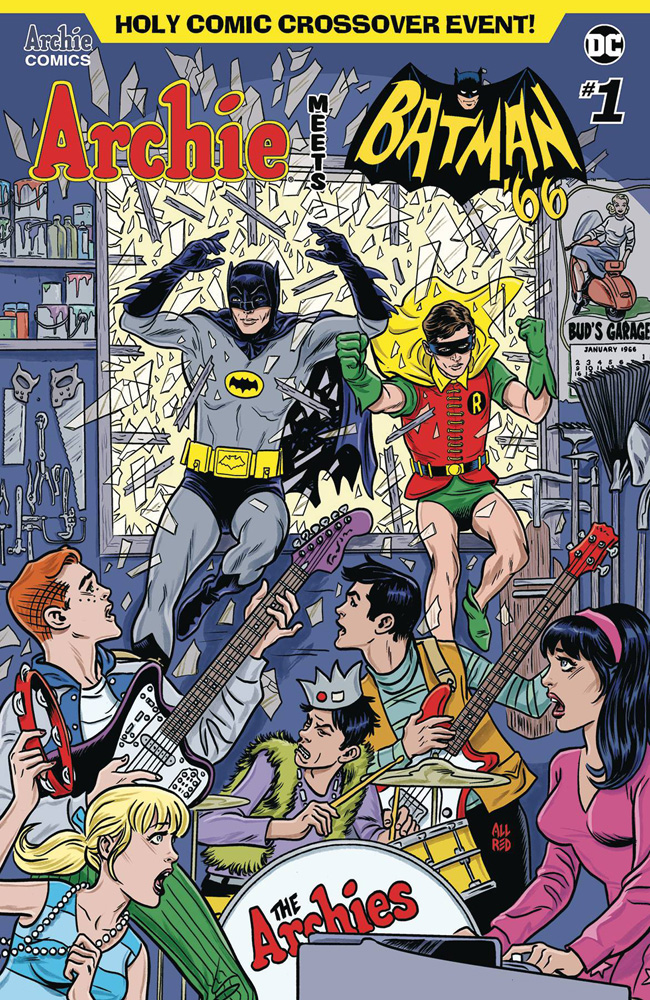 Image: Archie Meets Batman '66 #1 (cover A - Allred)  [2018] - Archie Comic Publications
