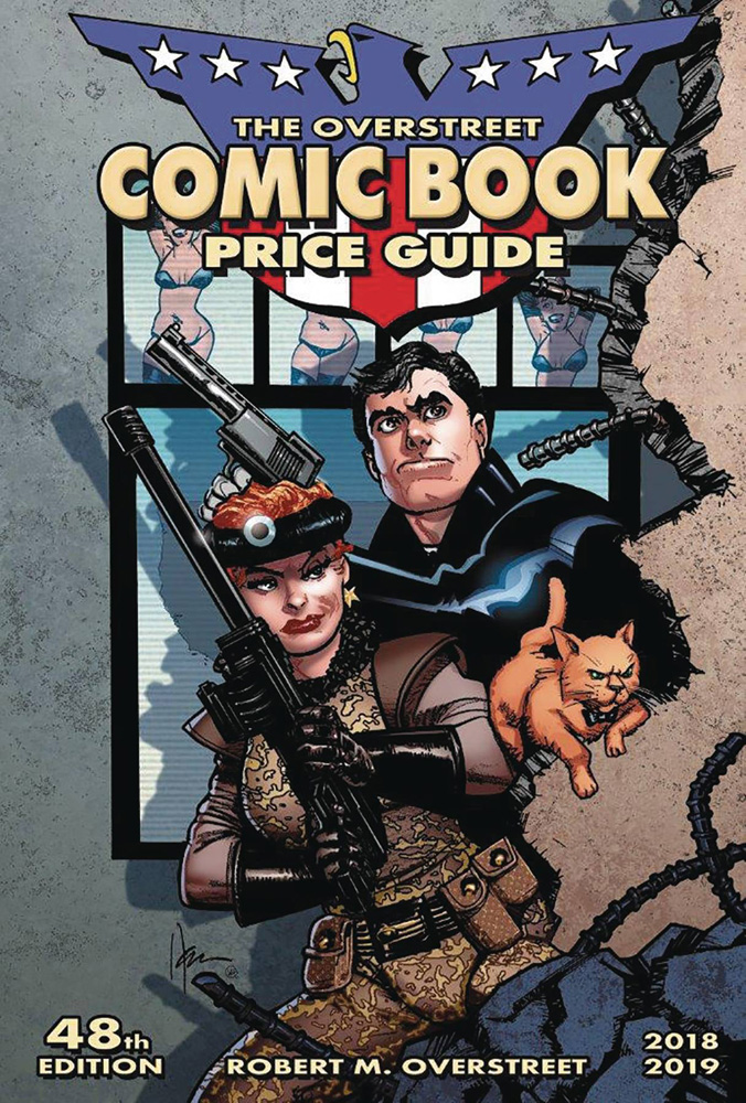 Image: Overstreet Comic Book Price Guide 48th Edition SC  (American Flagg cover) - Gemstone Publishing