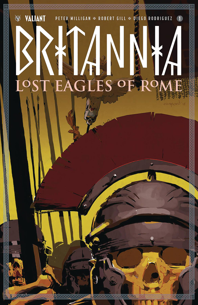 Image: Britannia: Lost Eagles of Rome #1 (cover A - Nord)  [2018] - Valiant Entertainment LLC