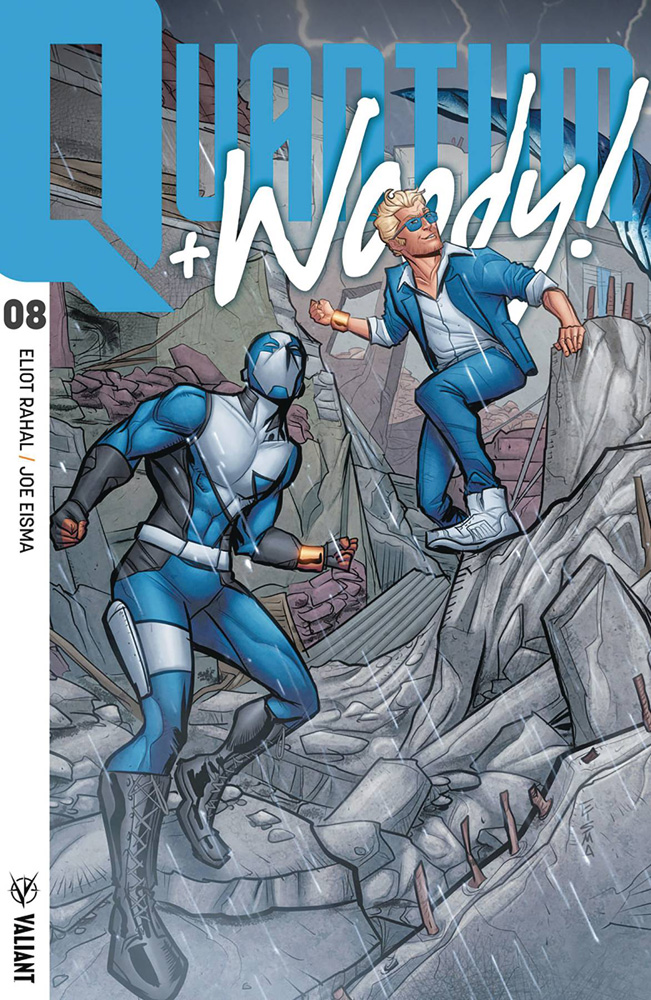 Image: Quantum and Woody [2017] #8 (cover C incentive Internlocking - Eisma) (20-copy)  [2018] - Valiant Entertainment LLC