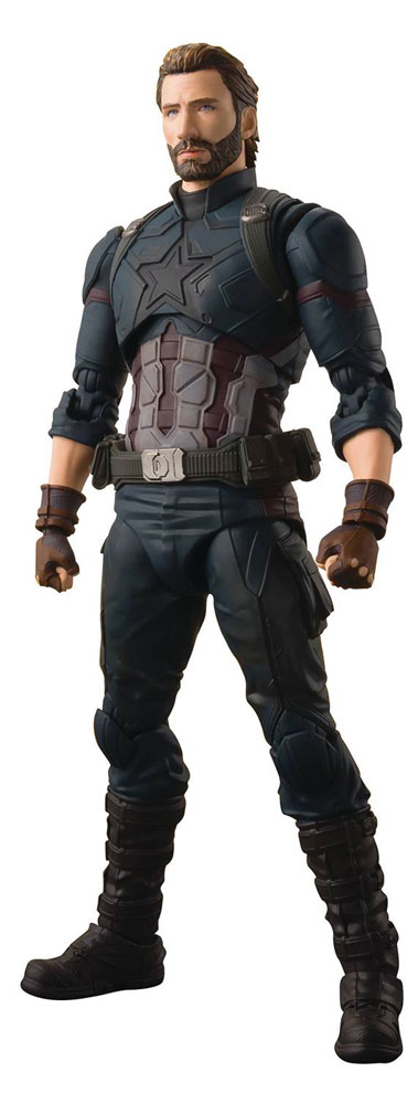Image: Avengers: Infinity War S.H.Figuarts Action Figure - Captain America  - Tamashii Nations