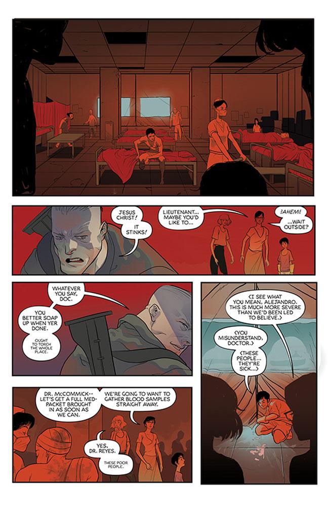 Unearth #1 (cover A - Rivas) - Image Comics