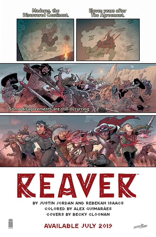 Reaver #1 (Web Super Special) - Image Comics