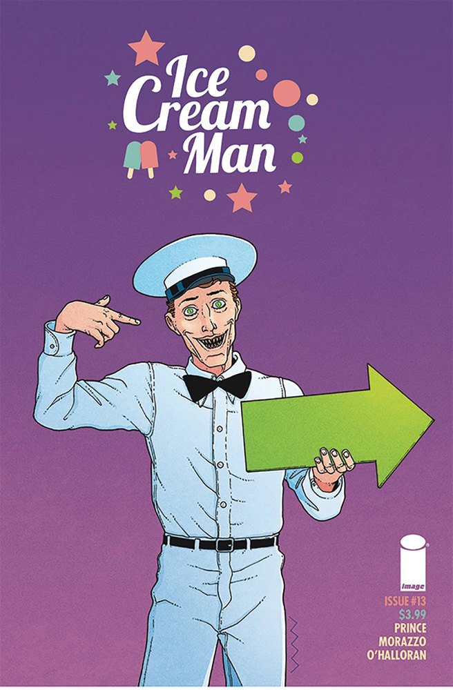 Image: Ice Cream Man #13 (cover A - Morazzo & O'Halloran) - Image Comics