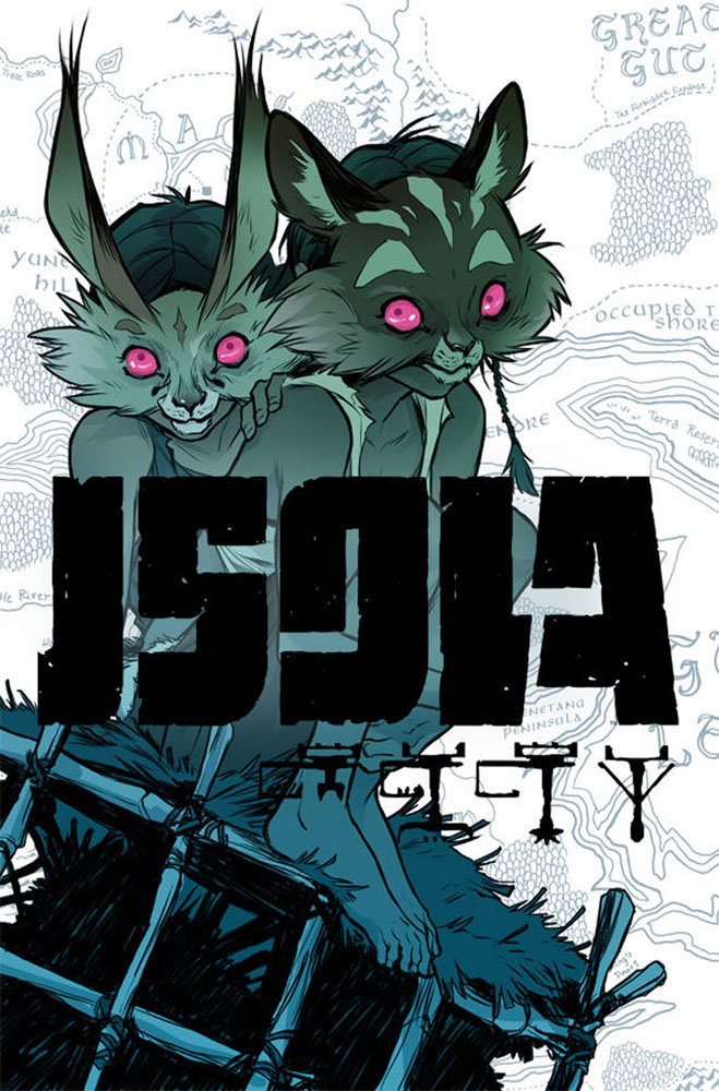 Image: Isola #9 (cover A - Kerschl) - Image Comics