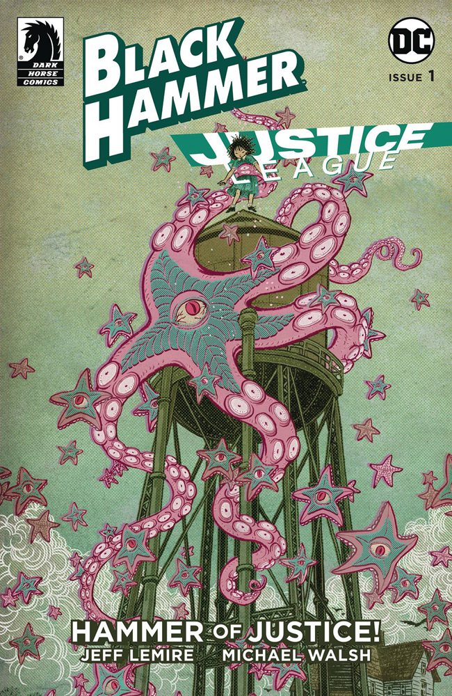Image: Black Hammer / Justice League: Hammer of Justice #1 (cover E - Lemire)  [2019] - Dark Horse Comics