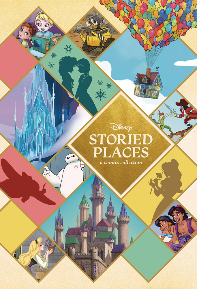 Image: Disney Storied Places: A Comics Collection HC  - Dark Horse Comics