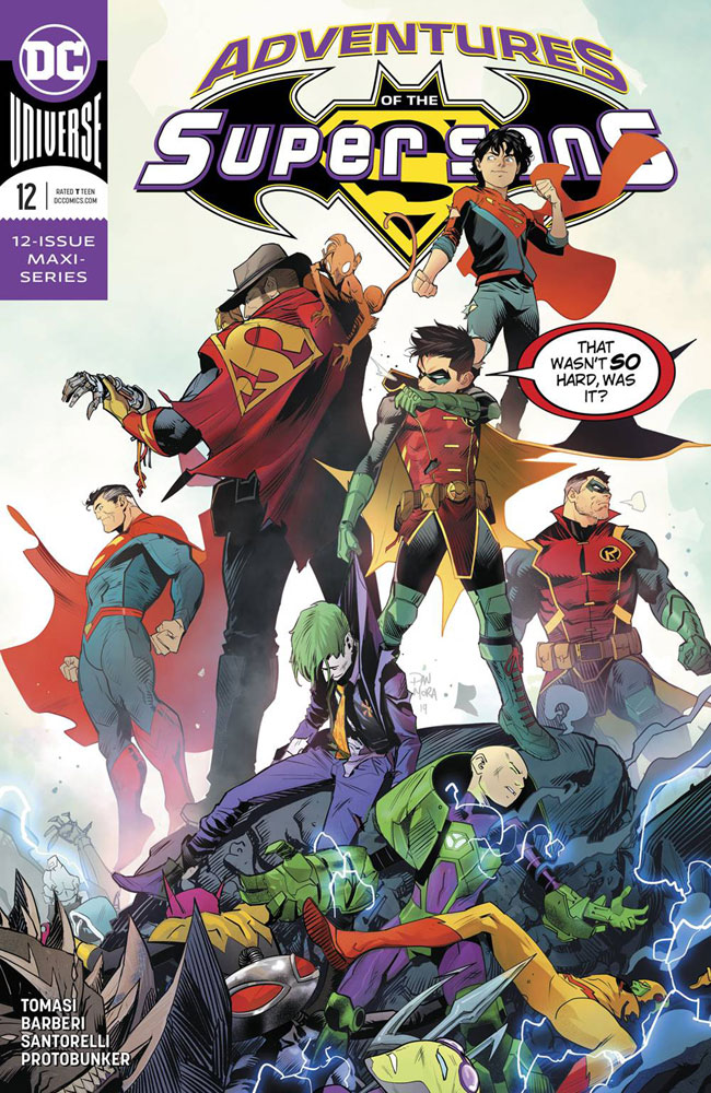 Image: Adventures of the Super Sons #12 - DC Comics