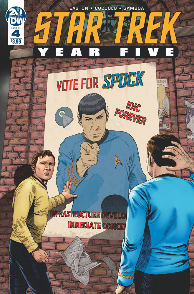 Image: Star Trek: Year Five #4 - IDW Publishing