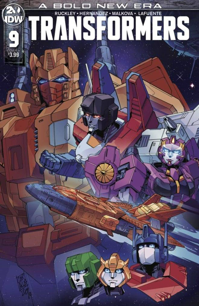 Image: Transformers #9 (cover A - Miyao) - IDW Publishing