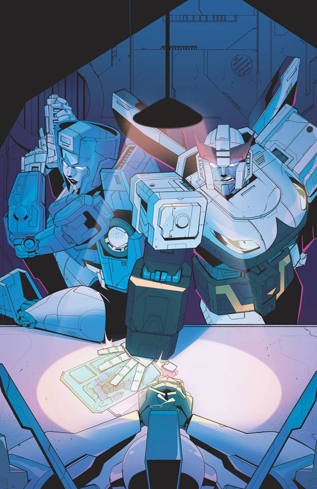Image: Transformers #9 (cover B - Tramontano) - IDW Publishing
