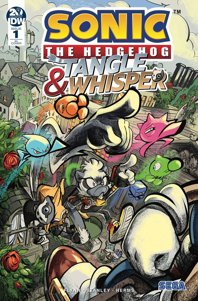 Image: Sonic the Hedgehog: Tangle & Whisper #1 (incentive cover - Skelly) (10-copy)  [2019] - IDW Publishing