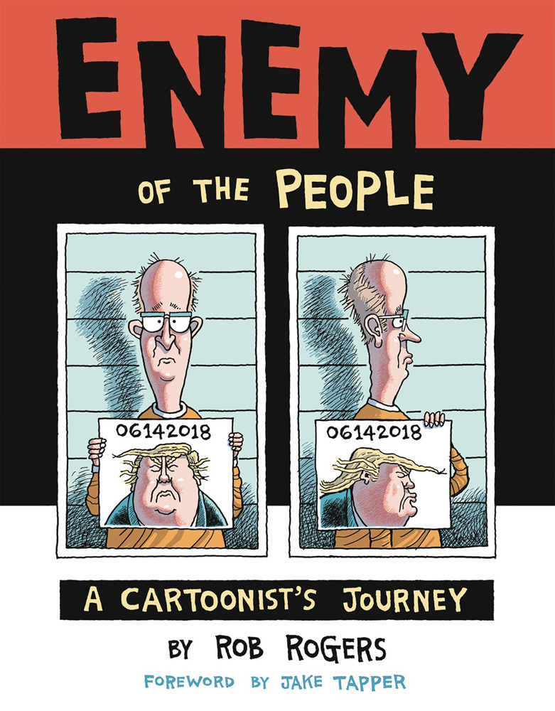 Image: Enemy of the People: A Cartoonist's Journey SC  - IDW Publishing