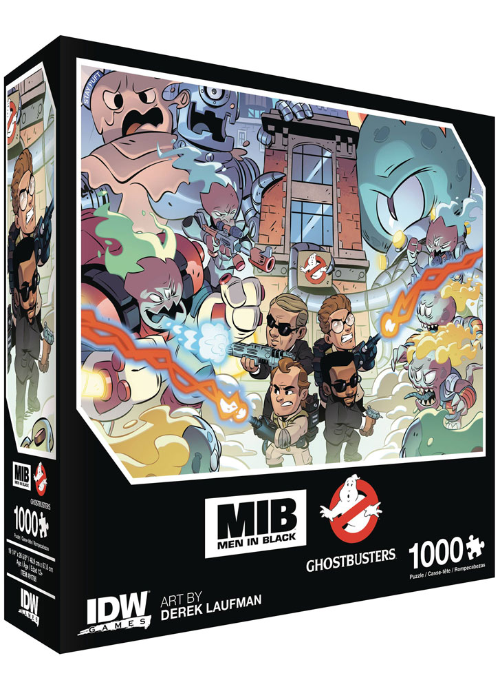 Image: Men in Black / Ghostbusters: Invasion Premium Puzzle  - IDW Publishing
