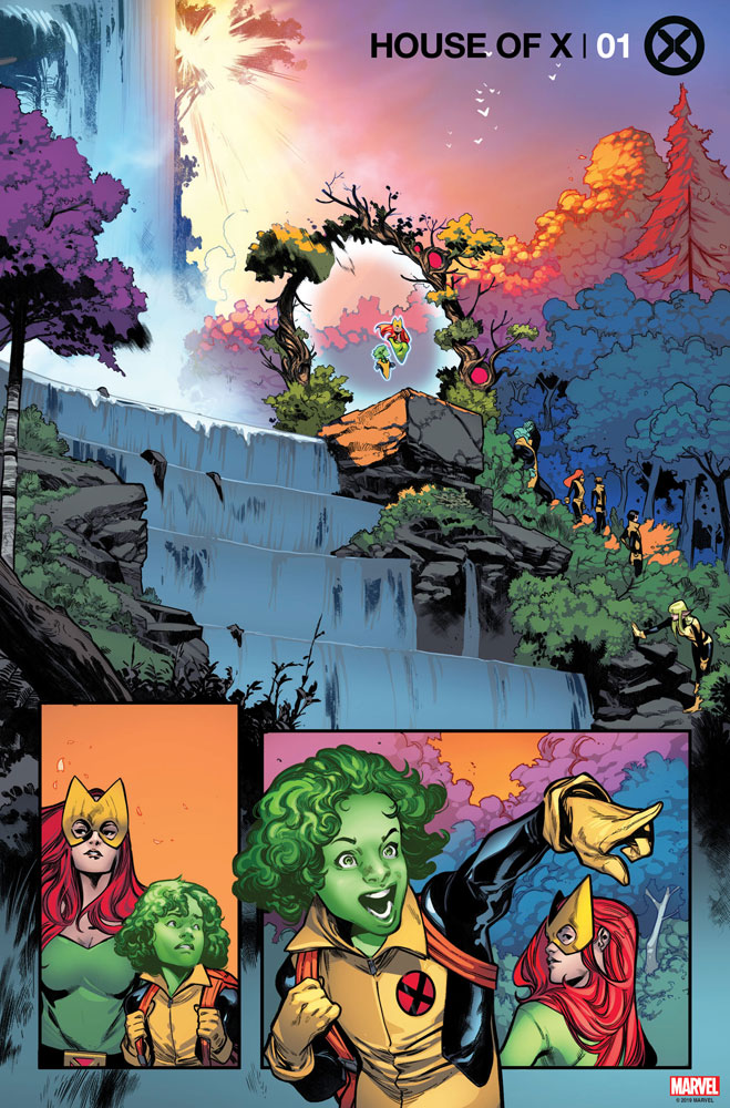 House of X #1 (variant cover - Young) - Marvel Comics