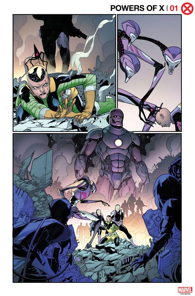 Powers of X #1 (variant Character Decades cover - Joshua Cassara)  [2019] - Marvel Comics