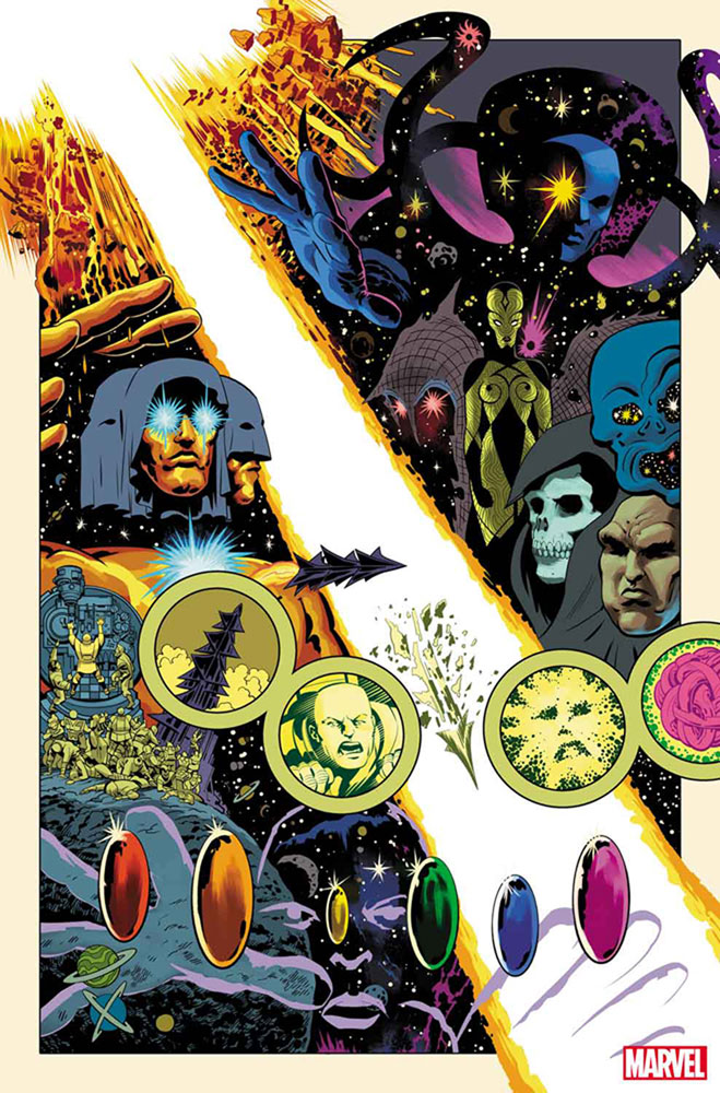 History of the Marvel Universe #1 (incentive Hidden Gem cover - Buscema) - Marvel Comics