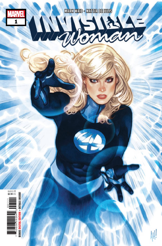 Image: Invisible Woman #1 - Marvel Comics