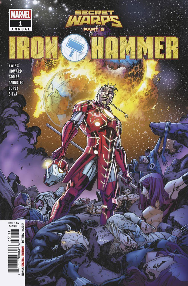 Secret Warps: Iron Hammer Annual #1
