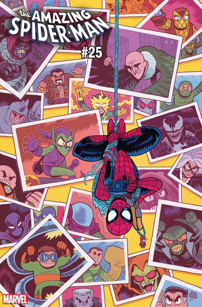 Image: Amazing Spider-Man #25 (incentive cover - Hipp)  [2019] - Marvel Comics