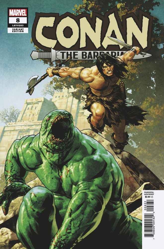 Image: Conan the Barbarian #8 (incentive cover - Saiz)  [2019] - Marvel Comics
