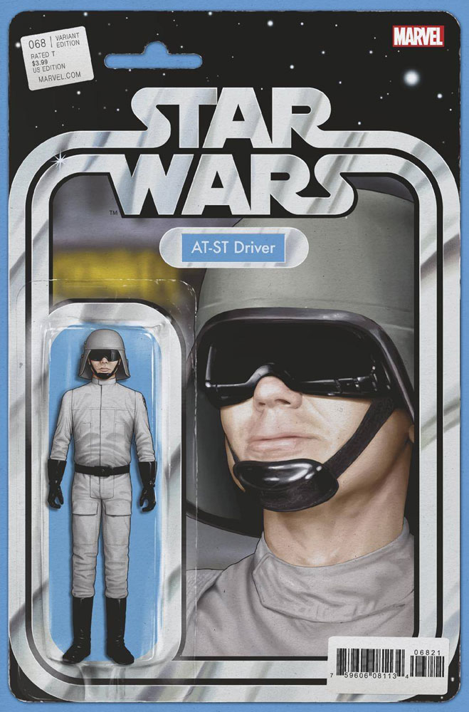 Image: Star Wars #68 (variant Action Figure cover - Christopher) - Marvel Comics